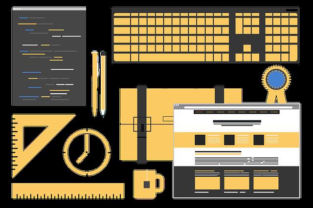 Web Design Mockup Web Developer  - JanBaby / Pixabay